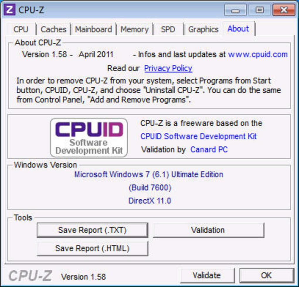 CPU-Z hoàn toàn miễn phí và cho thông tin cực chi tiết
