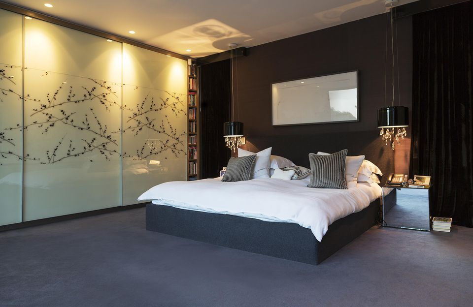 Inspirasi desain kamar tidur kontemporer - source: thespruce.com