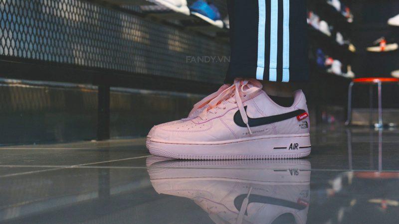 Giày Nike Af1 x Supreme x The North Face