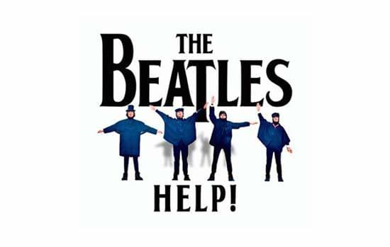 Album cover for The Beatles: Help!