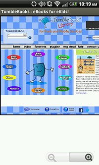 Visit the Tumblebooks Site for Child-Focused eBooks