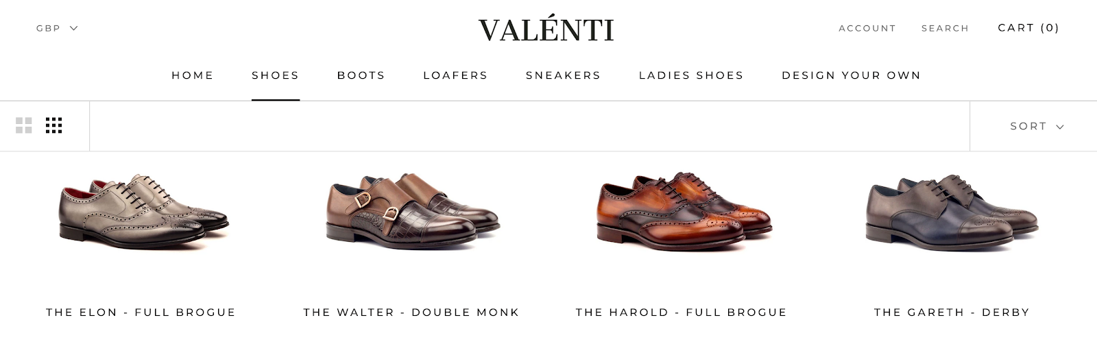 Valénti   Luxury Footwear Brand