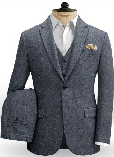 Tweed jacket for men