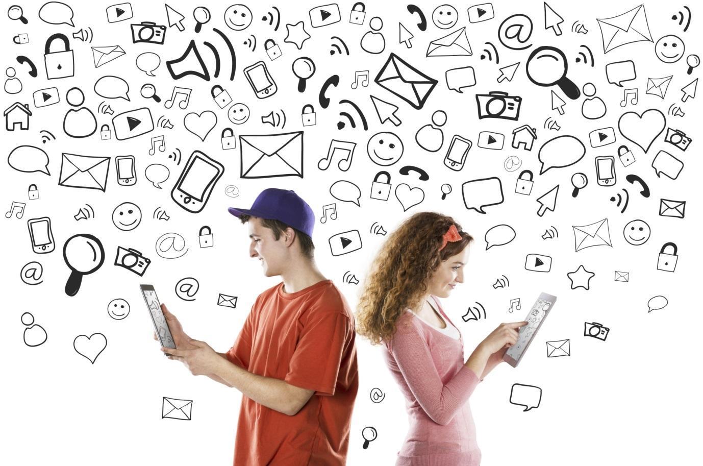 Активности внутри социальных сетей