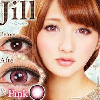 コンビニ払い対応★Jill (ジル)Sherbet ピンク度あり&度なしカラコンピンクピンクカラコン 商品画像