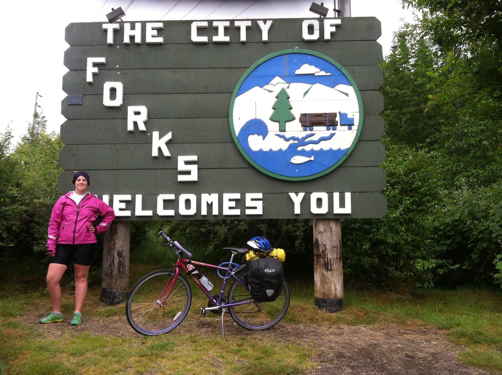 Forks bike trip