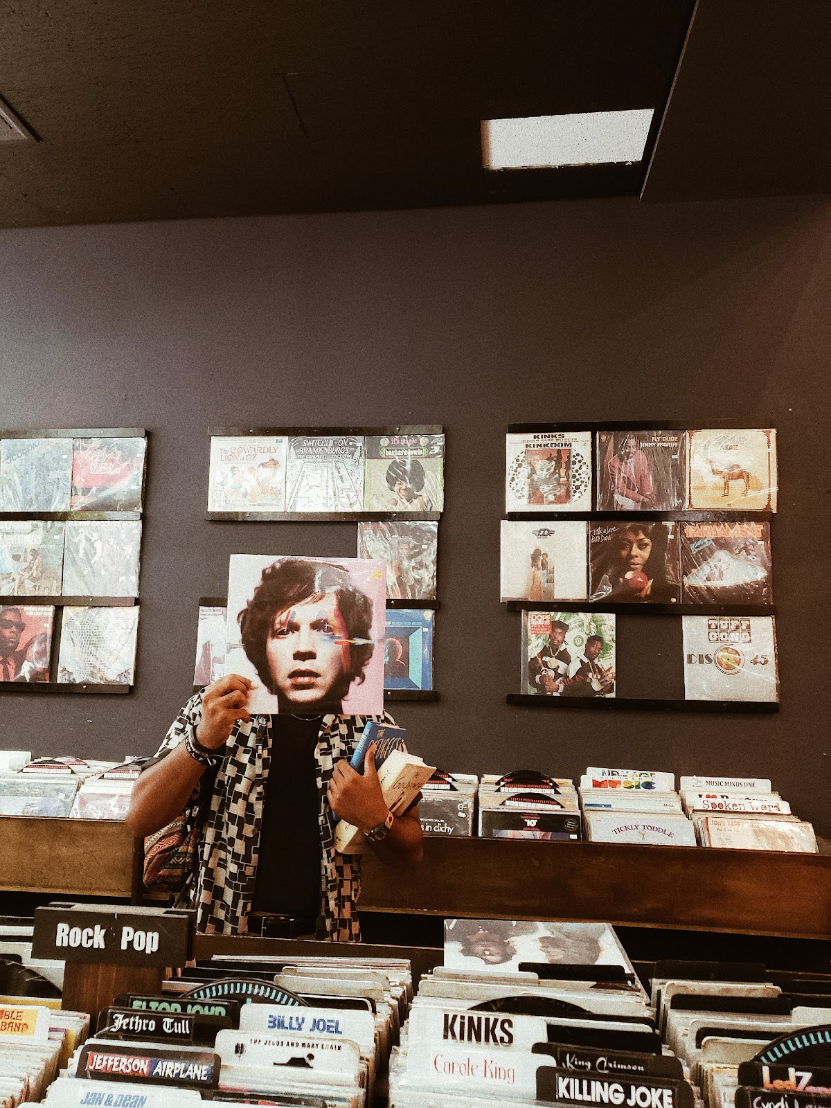 Noa in a Record Store