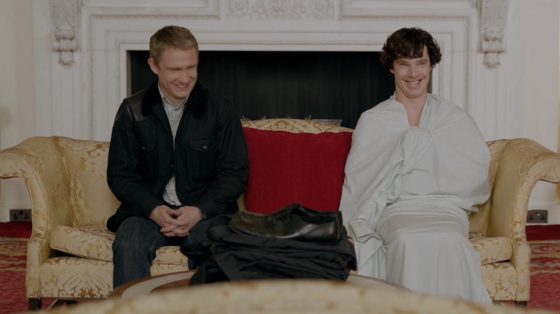 Something Sherlock irene adler nude sorry