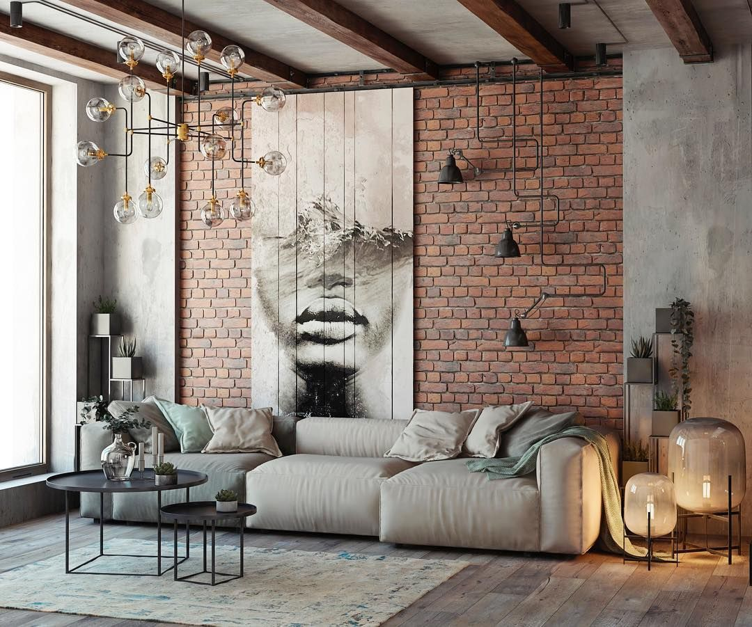 Loft style walls