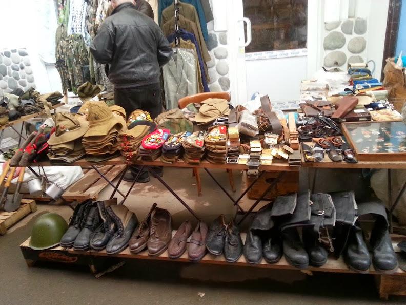 Izmailovsky Market army gear