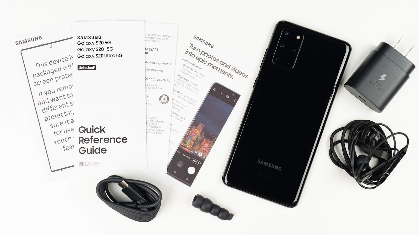韓版、美版差在哪?美國版 Galaxy S20+ 5G 開箱