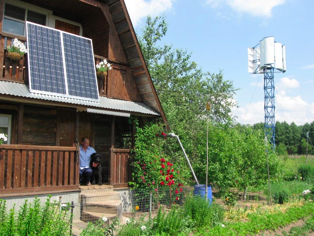 Солнечная электростанция на даче - фото 2