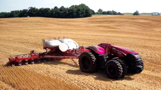 Автоматические тракторы