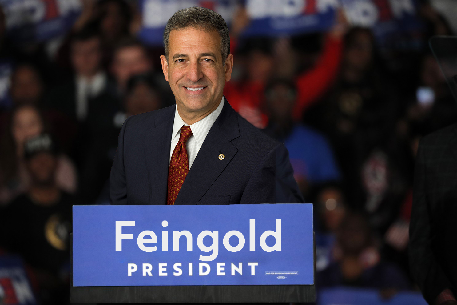 APRIL FOOLS – Russ Feingold accepts Democratic nomination