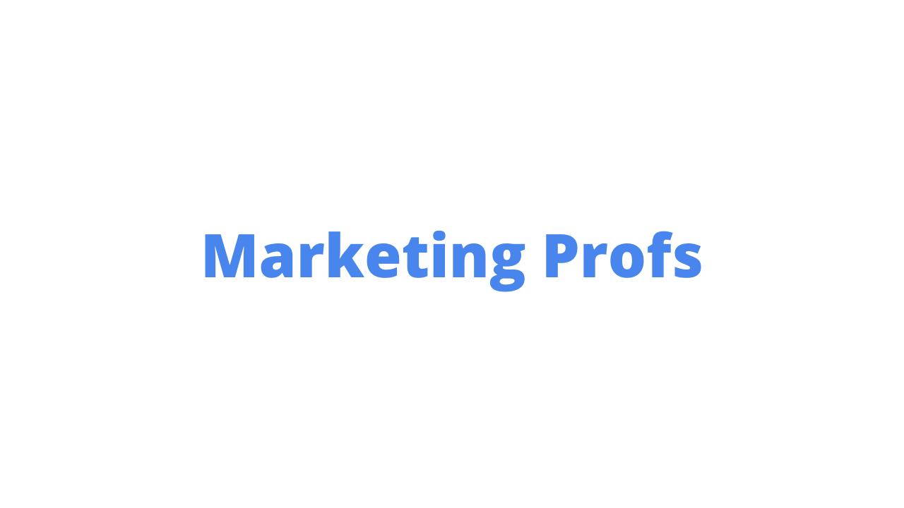Marketing Profs is best for digital marketing blogs