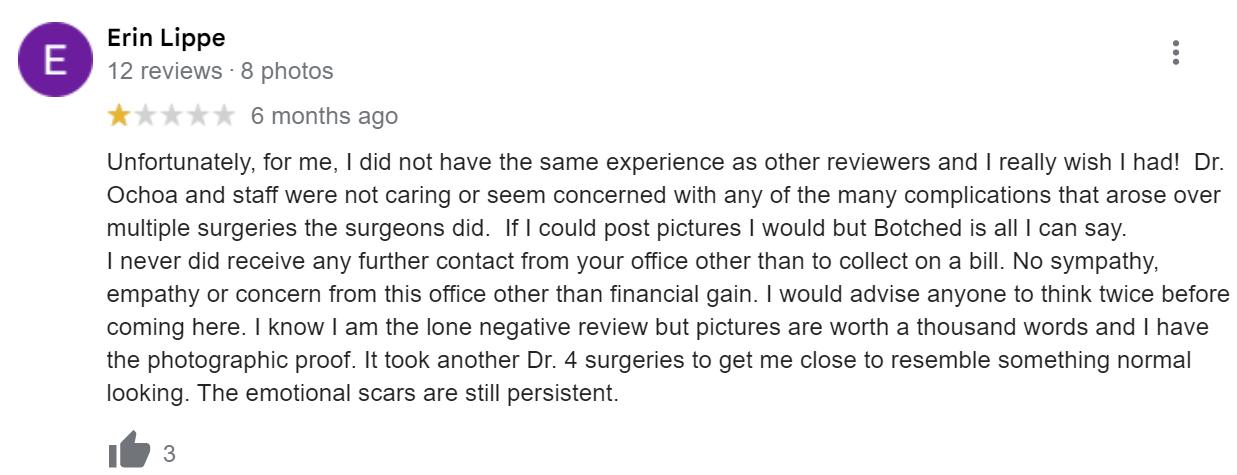 PRMA Plastic Surgery review