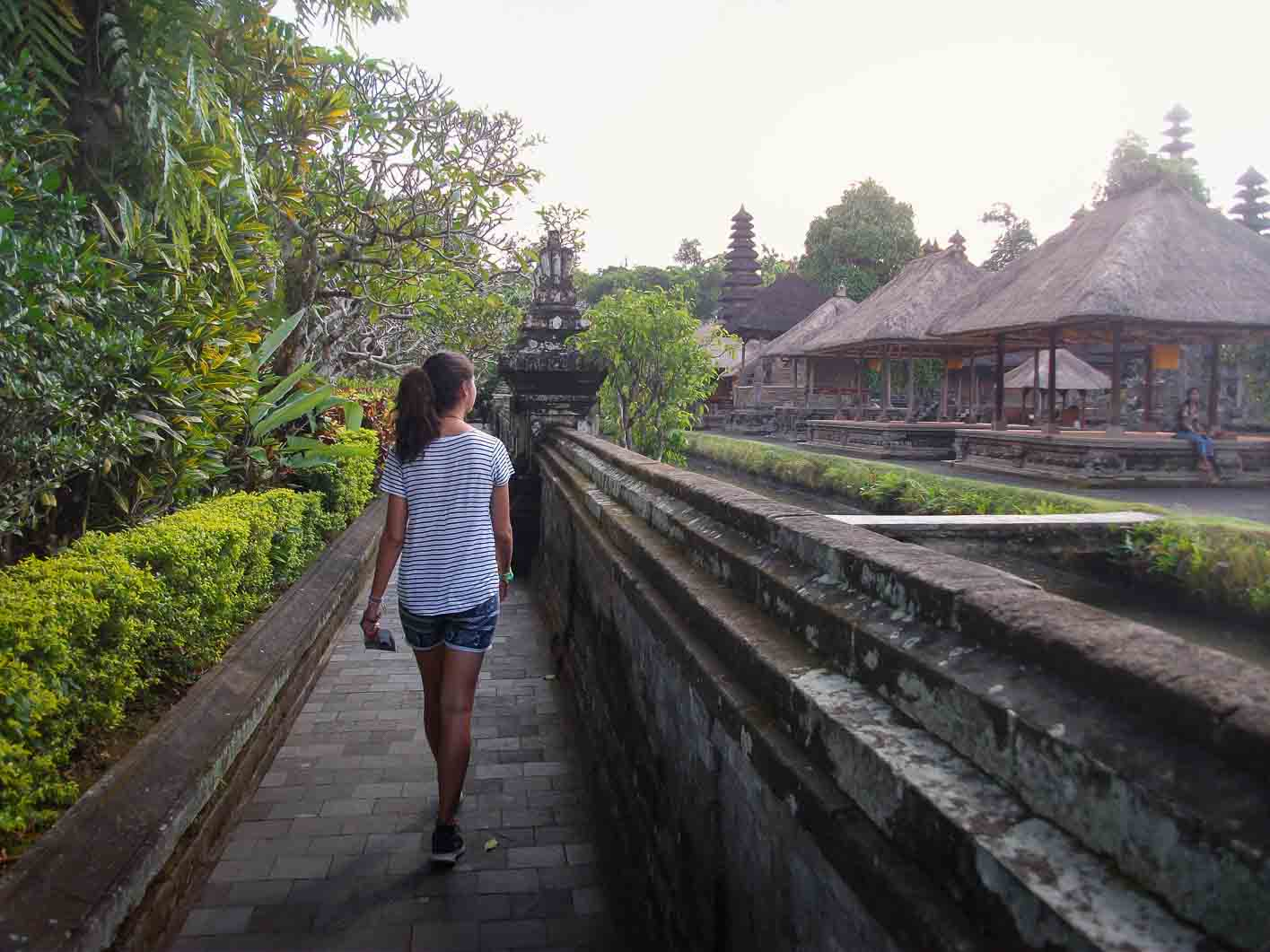 Walking on streets of Bali help to learn and experience the rich inherit culture of bali
