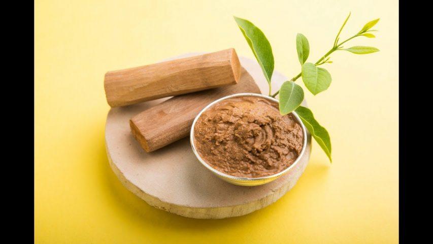 bột gỗ đàn hương và nha đam
