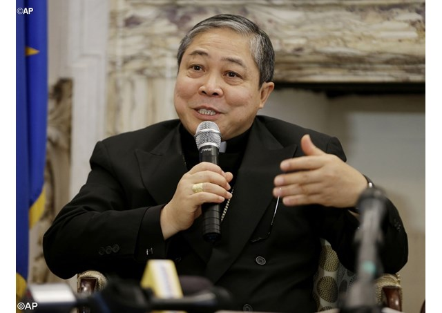 Archbishop Bernardito Auza, the Permanent Observer of the Holy See to the United Nations - AP