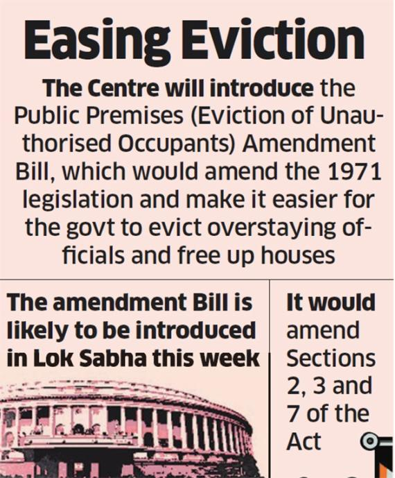 Image result for Eviction Bill india