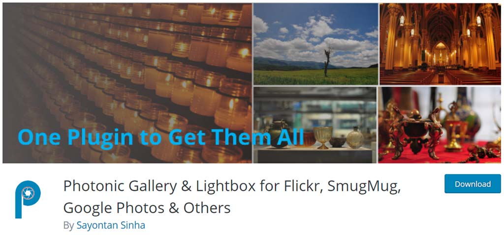 plugin photonic gallery para wordpress