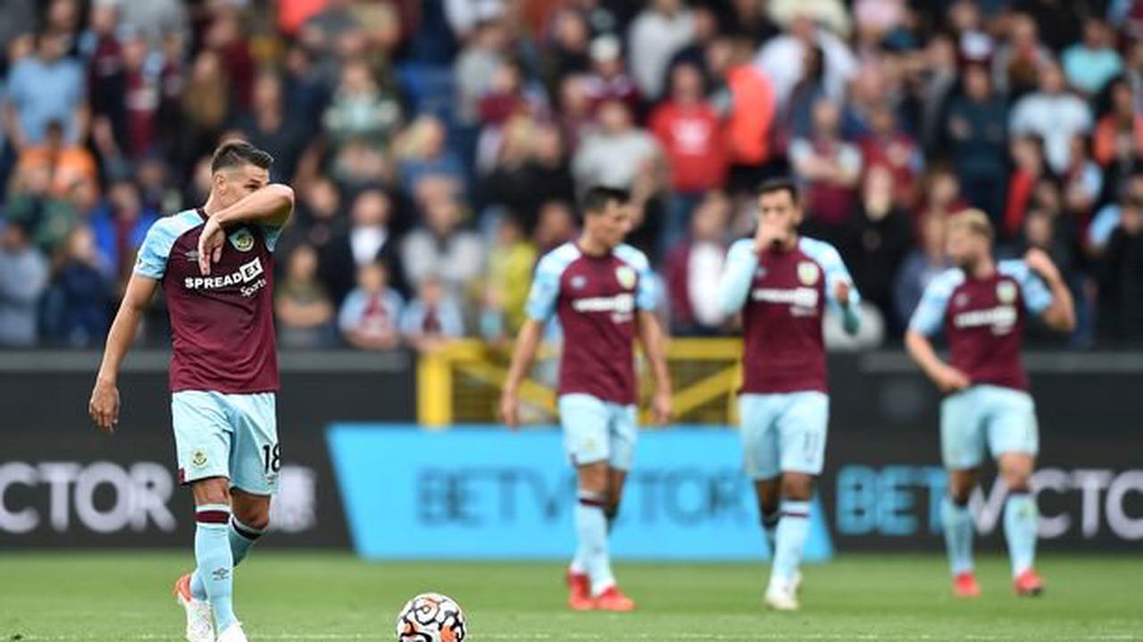 Các cầu thủ Burnley đang thể hiện phong độ khá thất vọng