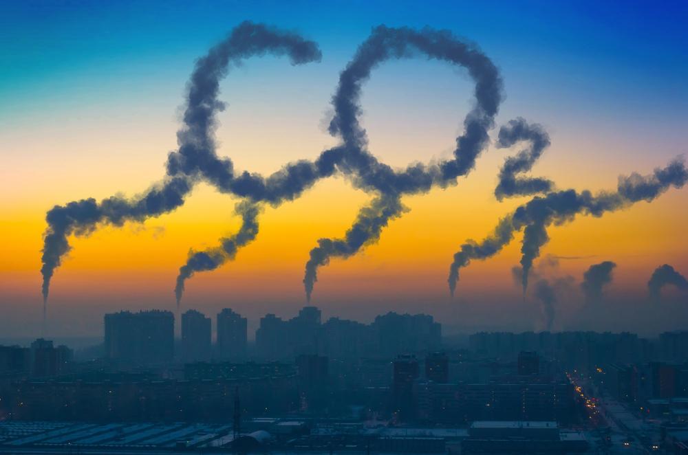 CO2 é o principal dos gases que provocam o efeito estufa. (Fonte: Shutterstock/aapsky/Reprodução)