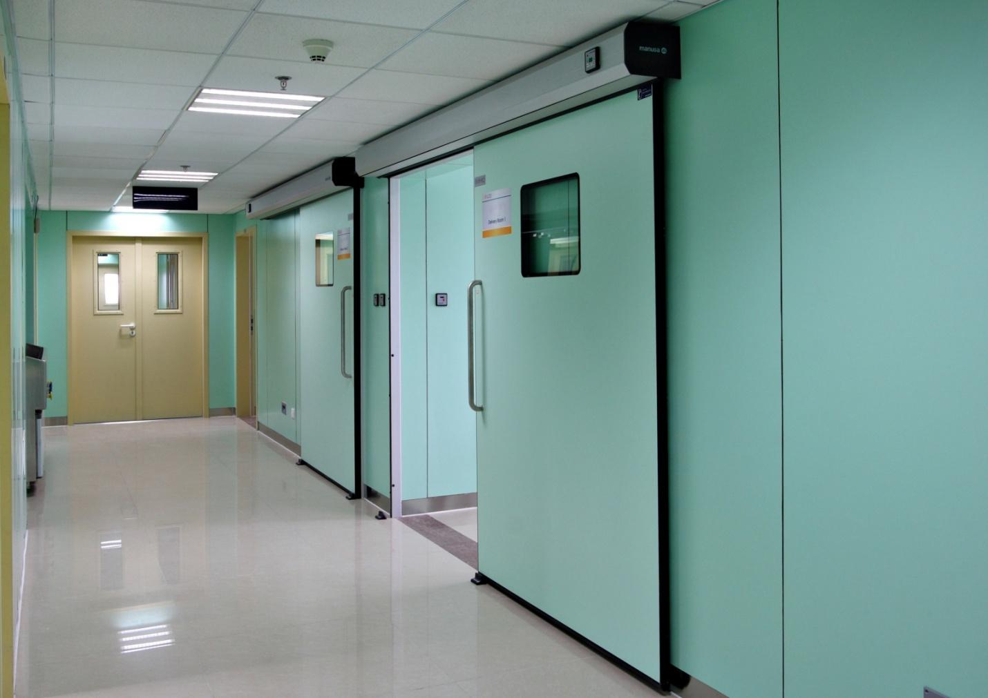 Cửa tự động bệnh viện
