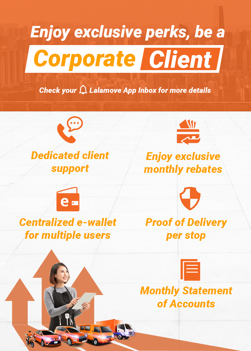 Take your business to the next level for FREE with Lalamove