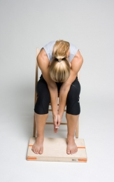 seated rhomboid stretch