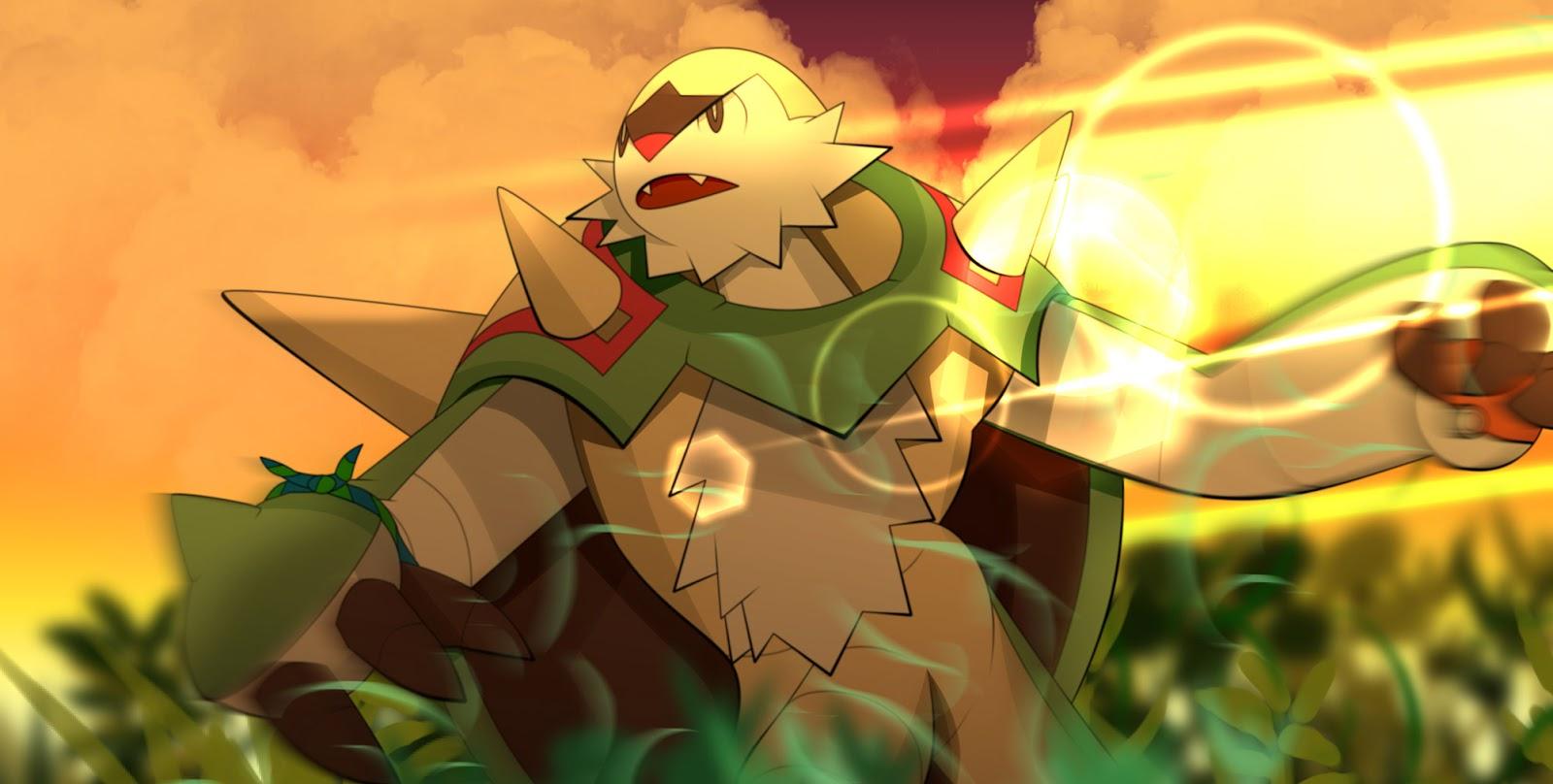 chesnaught Best Grass Type Pokemon