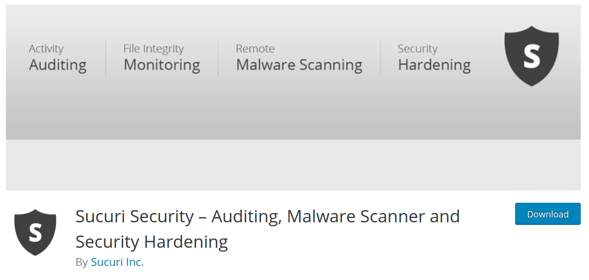 sucuri wordpress security plugin header