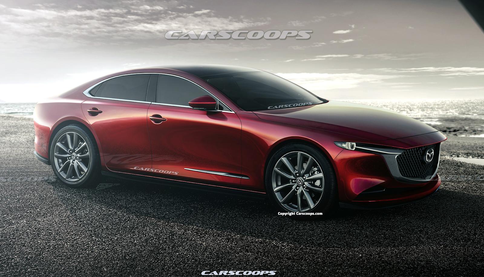 Mazda 6 2021 có thiết kế chuẩn khuôn mẫu trong phân khúc xe Sedan