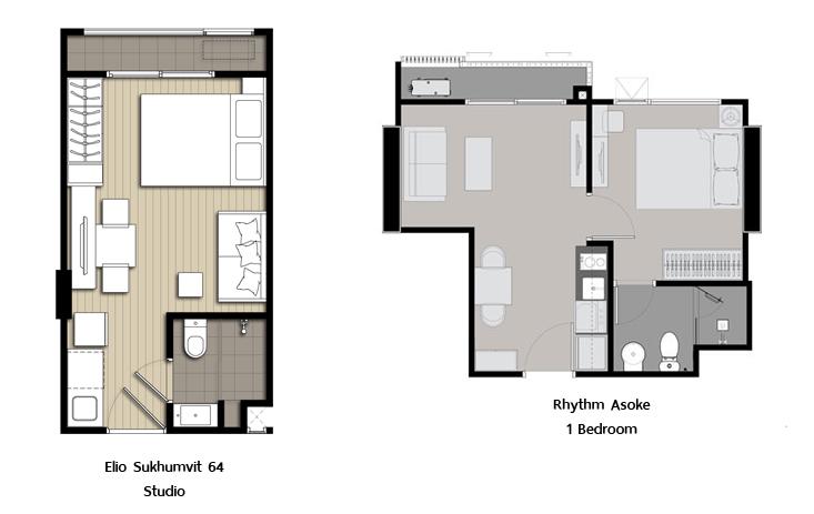 Studio Vs One Bedroom Design Decoration