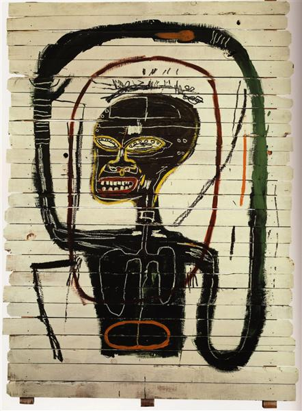 Jean-Michel Basquiat, Flexible (1984). Fonte: WikiArt