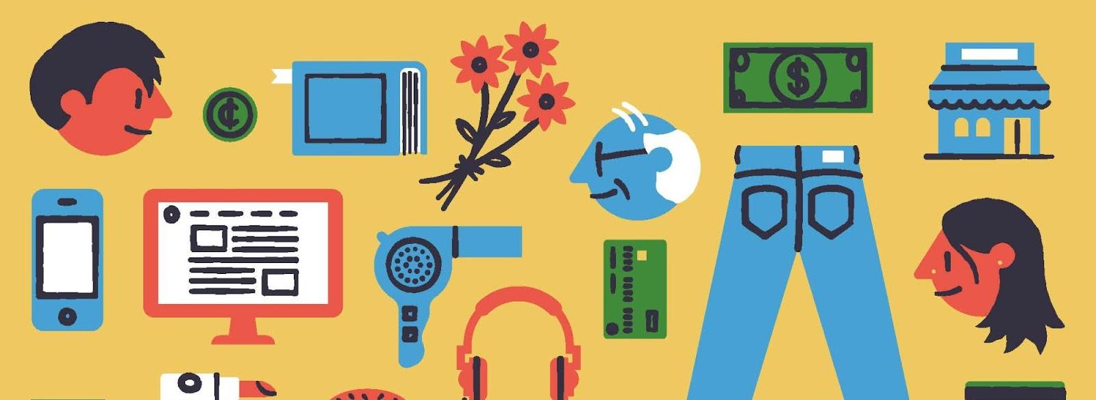 Иллюстрация к статье: Омниканальный маркетинг: что вам нужно знать о привычках современных потребителей. Часть 1