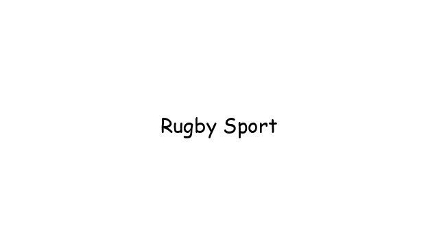 Rugby Sport