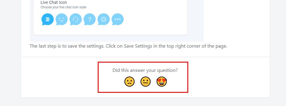 feedback on customer support