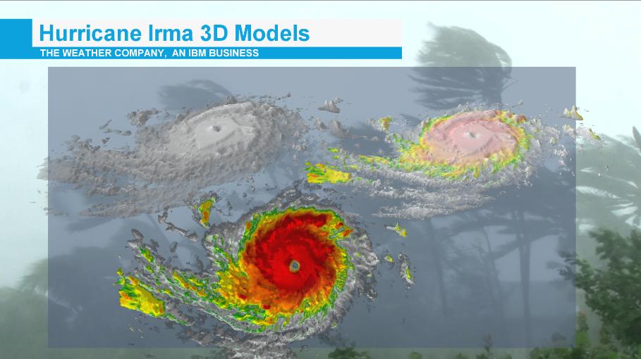 Hurricane Irma 3D Models
