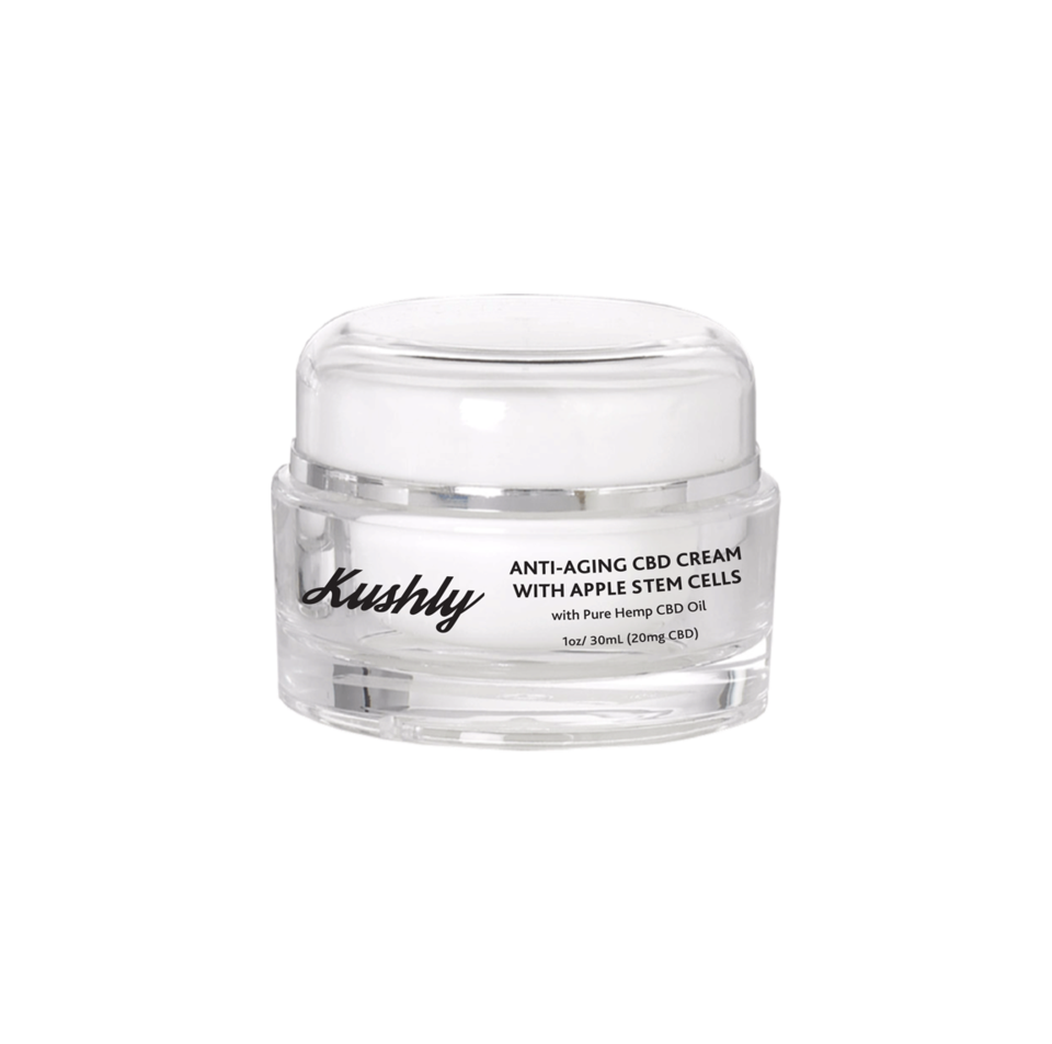 Kushly Anti-Aging CBD Cream with Apple Stem Cells - 20mg