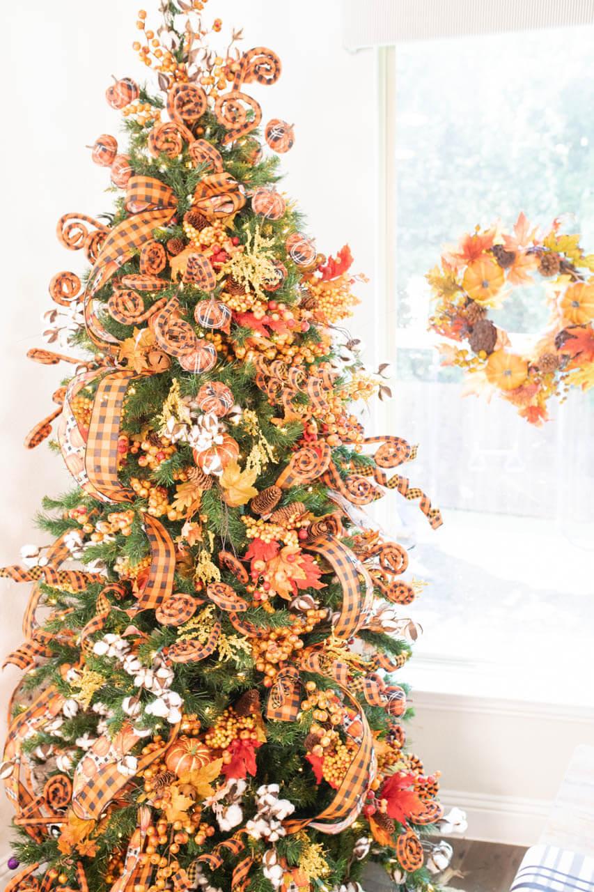 Fall Christmas Tree