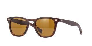 Garrett Leight Brooks X 2083 MBRT/PBN Pure Brown Sunglasses | Pretavoir