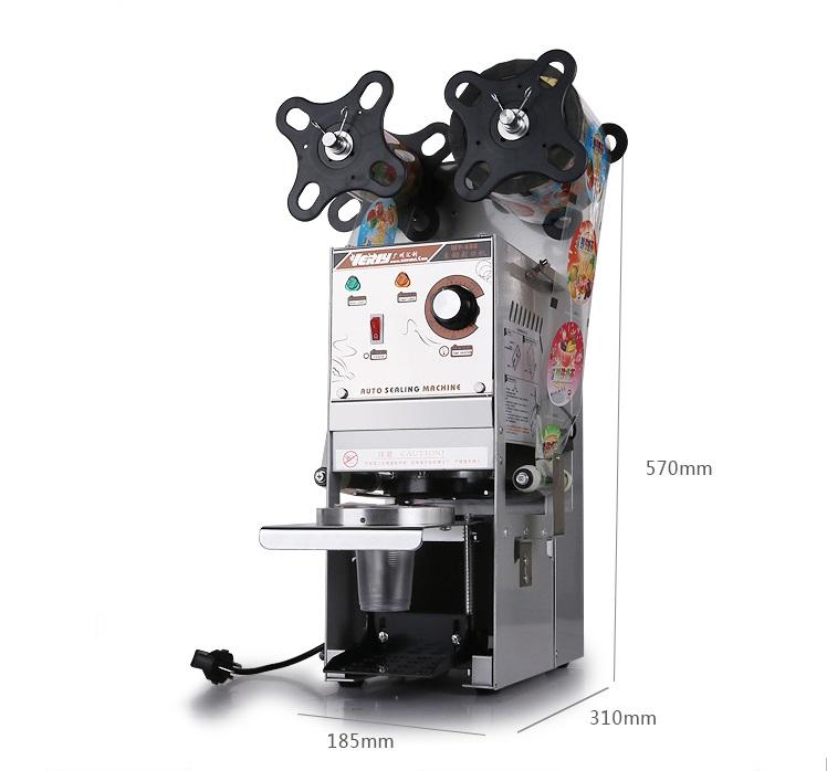 Máy dập nắp cốc bán tự động Willy-WY680 - ảnh 2