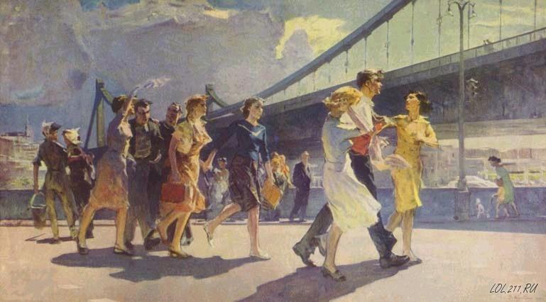 Советский художественный реализм. картины, реализм