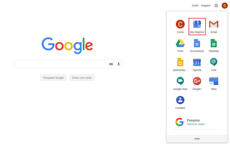 como logar no google meu negócio