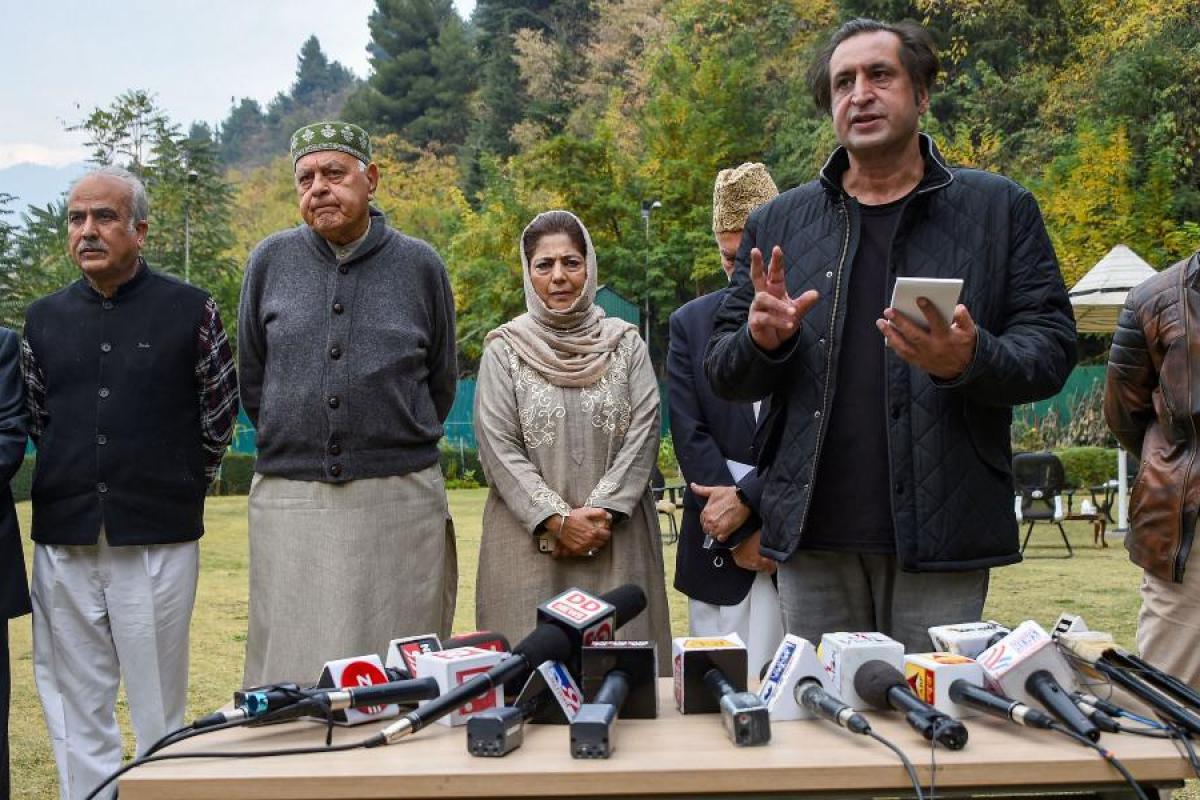 Eminent citizens slam Gupkar alliance leaders- The New Indian Express