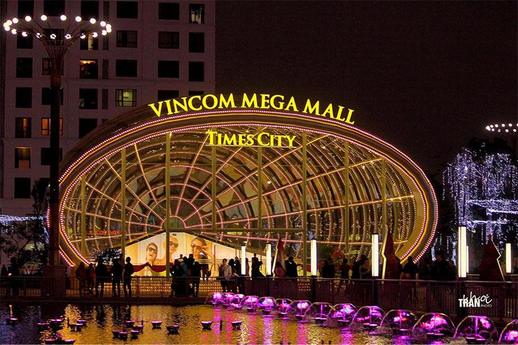 Các trung tâm thương mại lớn ở nước ta