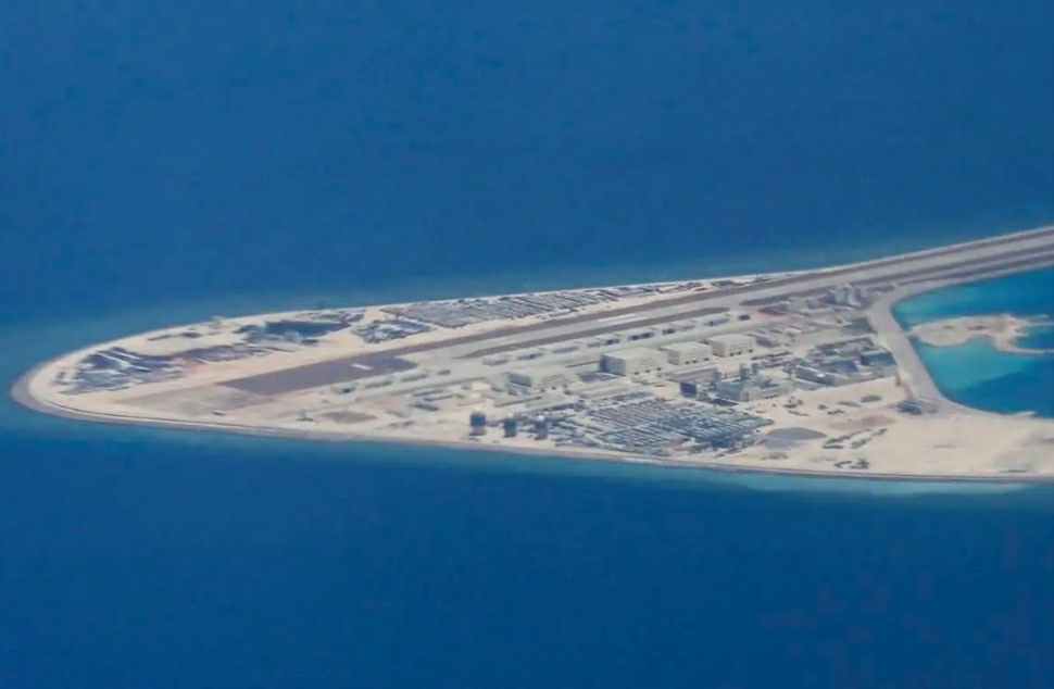 A Chinese Artificial Island