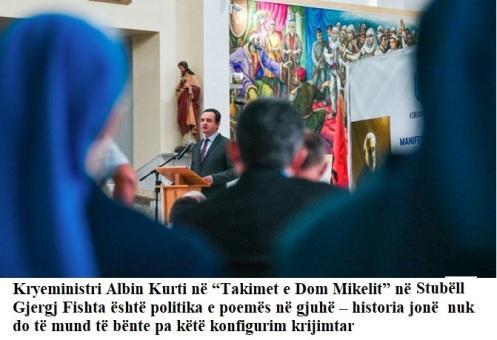 Albin kurti_stubell dom Mikeli