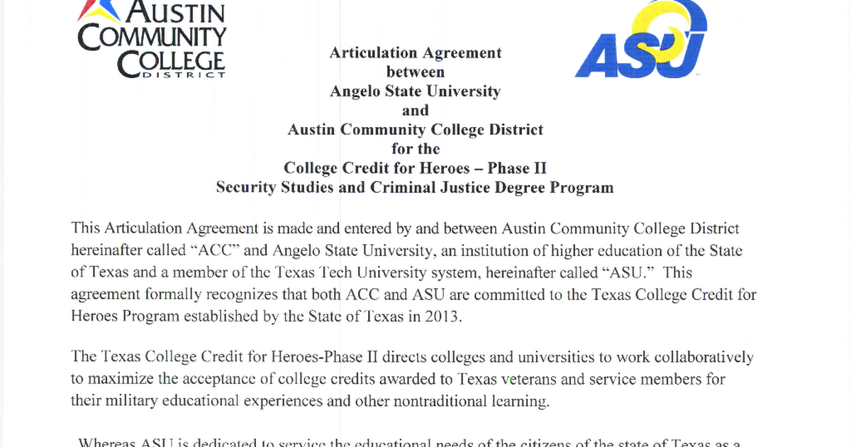 Angelo State Univeristy Security Studies And Criminal Justice